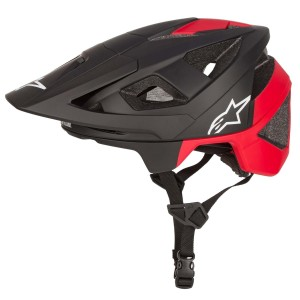Alpinestars kask Vector Pro- Atom black red matt M