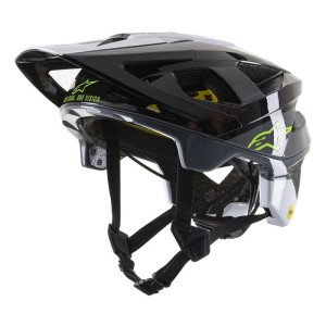 Alpinestars kask Vector Tech - Pilot black white cool gray glossy M