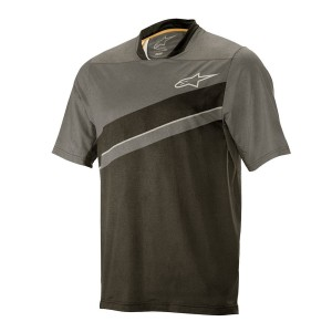 Alpinestars koszulka ALPS 8.0 SS Jersey dark shadow black L