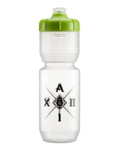 Cannondale Bidon ALUMINATI BOTTLE 750ml CLEAR/GREEN