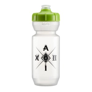 Cannondale bidon ALUMINATI BOTTLE 600ml CLEAR/GREEN